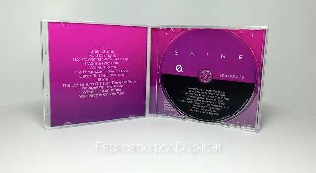 Gracias @duplicatmusic  por una excelente fabricación del CD y por este vídeo para que luzca bien!!! Recuerda que lo puedes comprar en eduquindos.com SHINE!!
